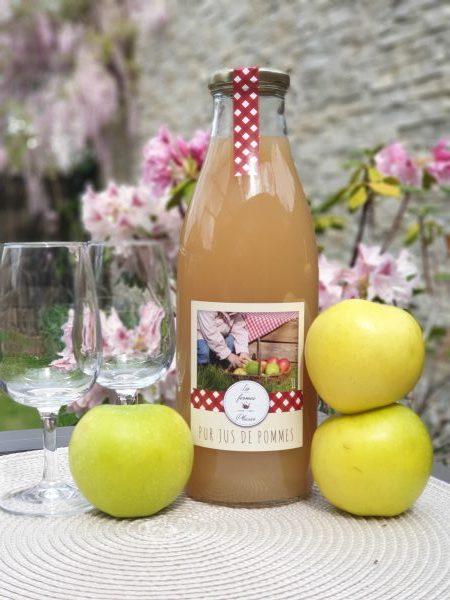 Jus de pommes artisanal (1L)